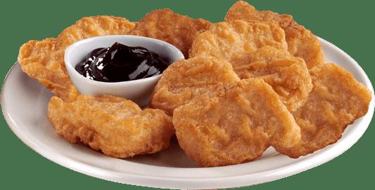 Kfc Chicken Nuggets transparent PNG.