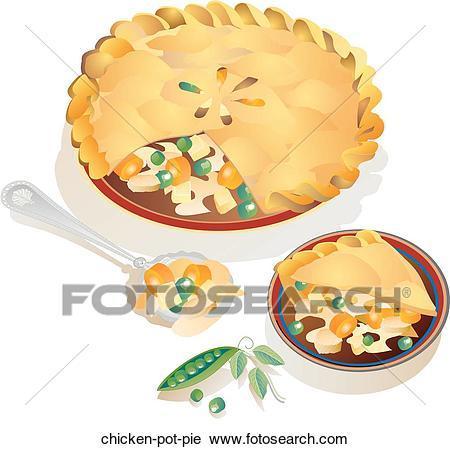 Chicken pot pie clipart 1 » Clipart Portal.