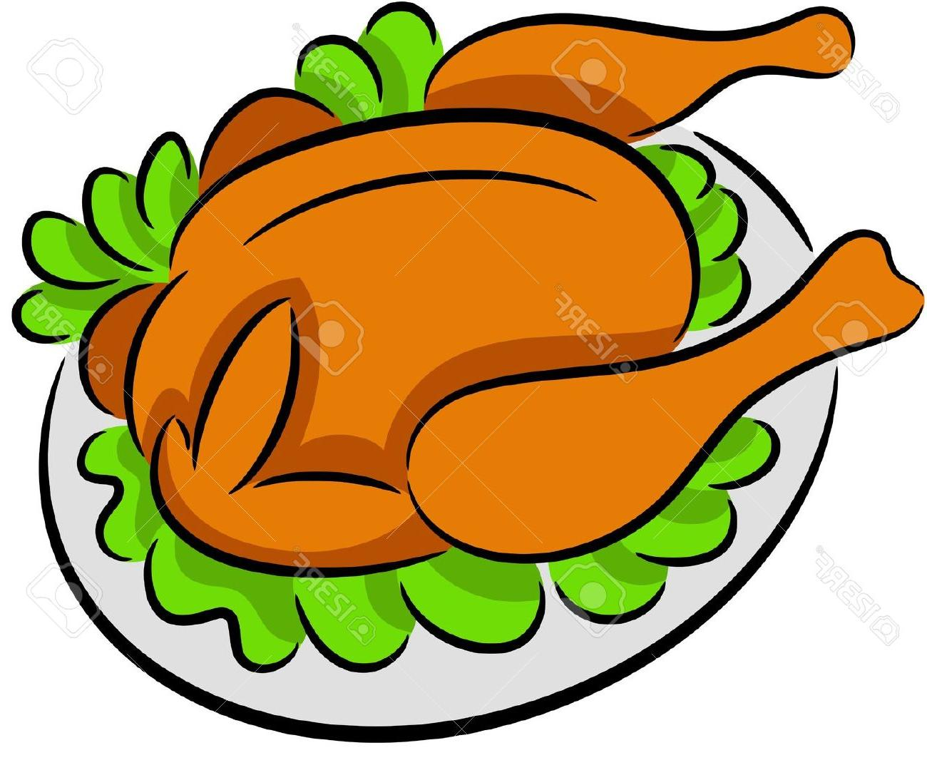 Grilled Chicken Clipart.