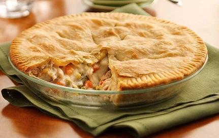 Chicken Pot Pie or Turkey Pot Pie from Real Restaurant Recipes.