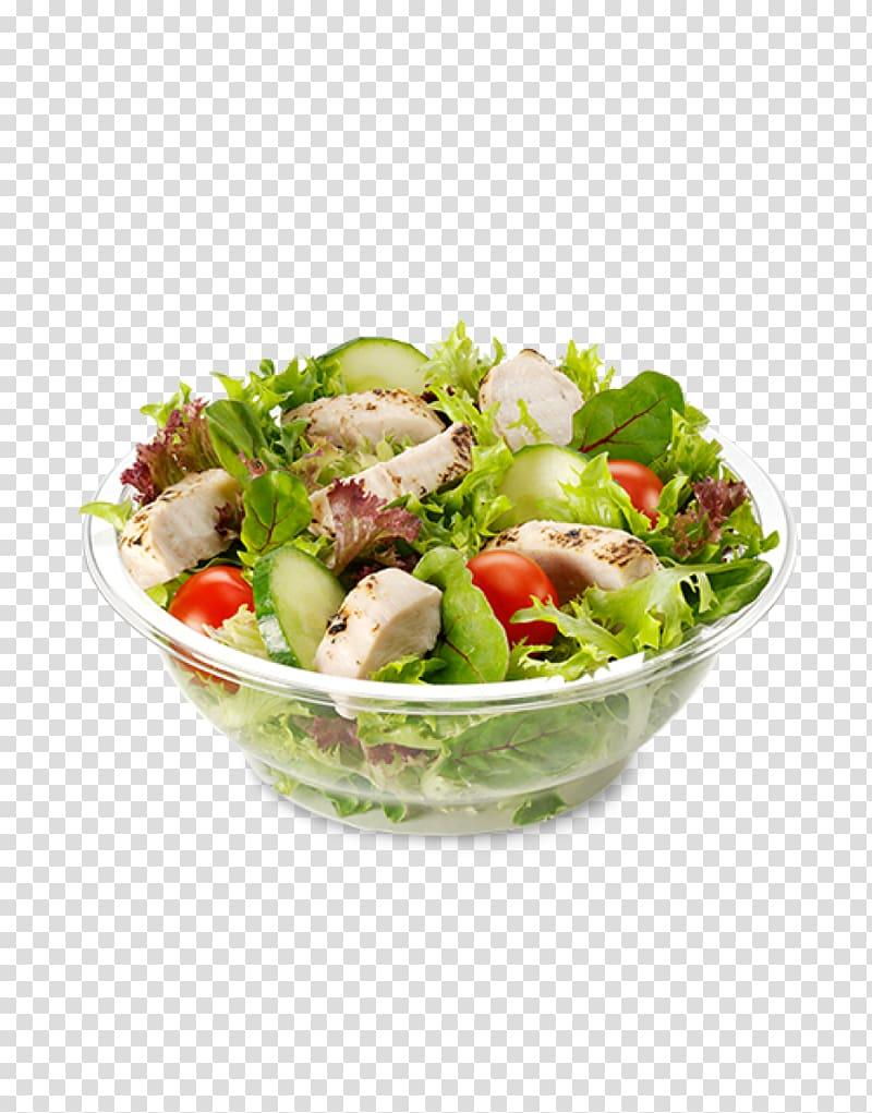 Chicken salad Wrap Hamburger Caesar salad, salad transparent.