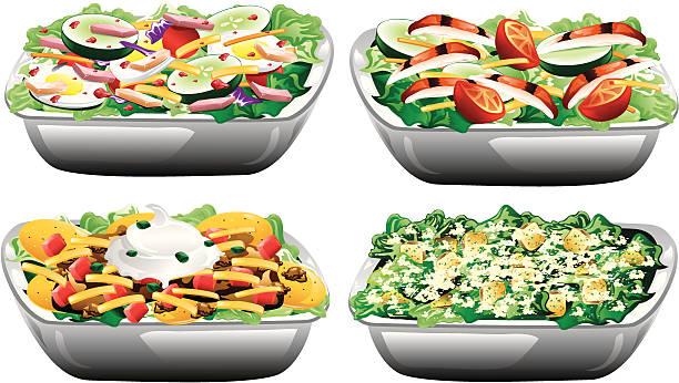 Best Chicken Salad Illustrations, Royalty.