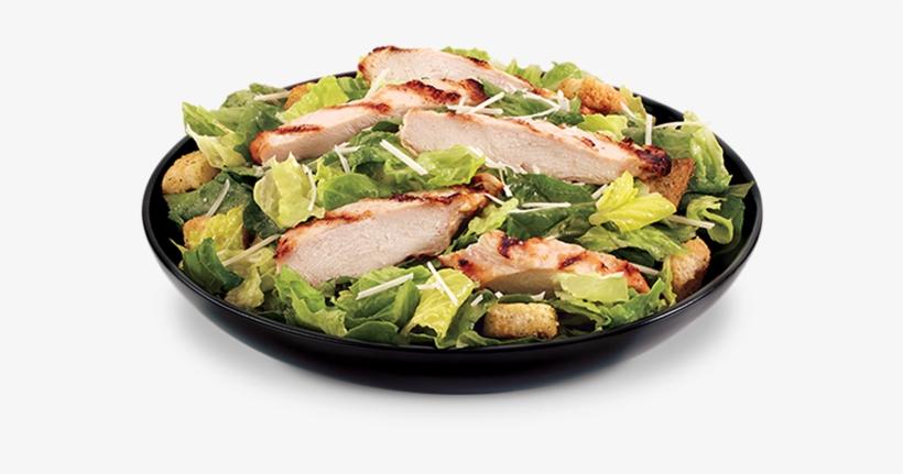 Grilled Chicken Caesar.