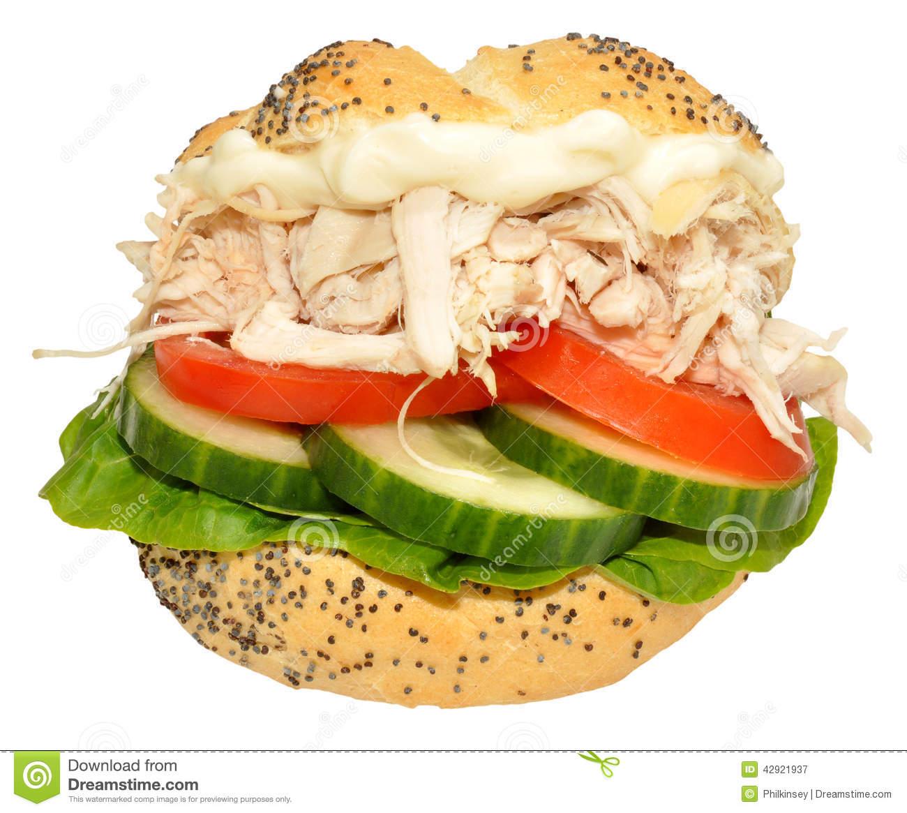 Chicken Salad Sandwich Clipart.