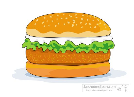 Chicken Patty Clipart & Free Clip Art Images #9762.