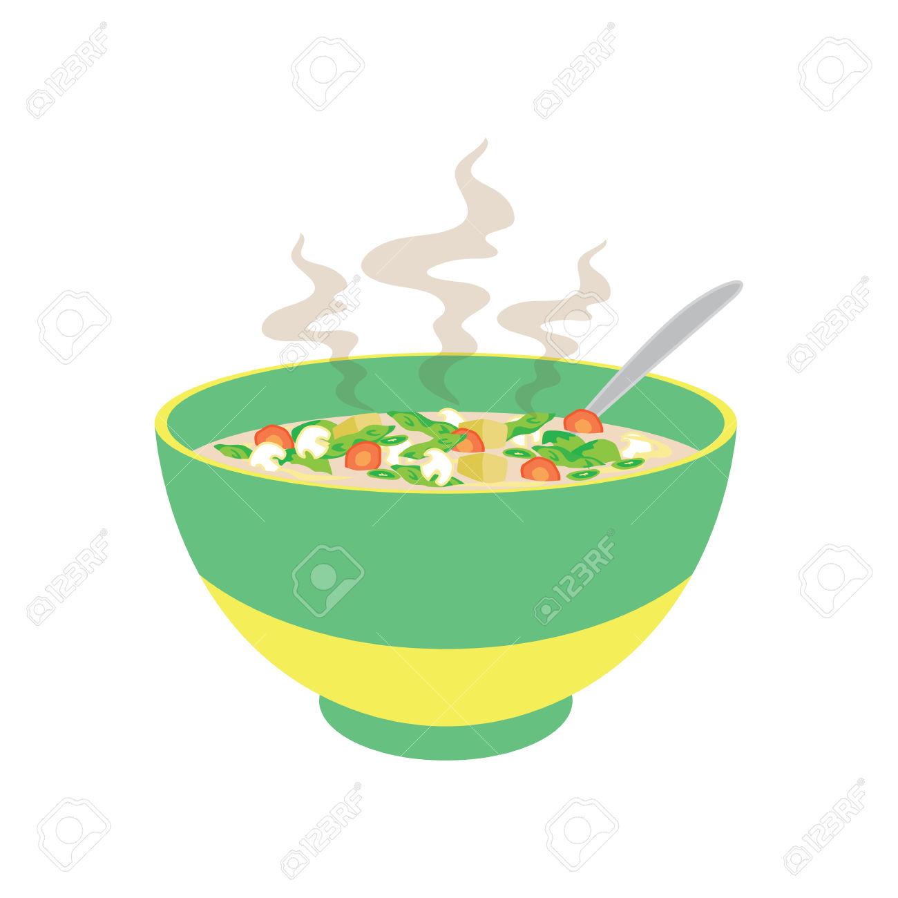 Soup Bowl Clipart.