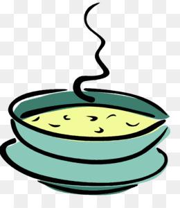 Free download Chicken soup Bowl Clip art.