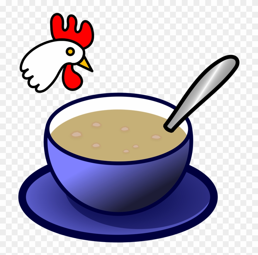 Chicken Soup Clipart Hot Food.