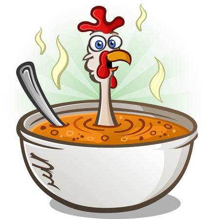 3,175 Chicken Soup Stock Illustrations, Cliparts And Royalty Free.