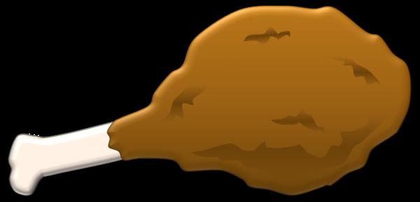 Chicken Leg Clipart.