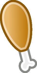 Chicken Leg Clip Art at Clker.com.