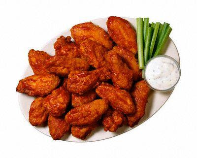 Buffalo Wings Clipart.