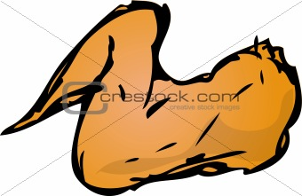 Chicken Wing Clipart.