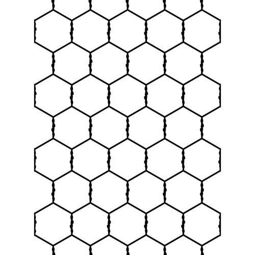Chicken Wire Graphic.