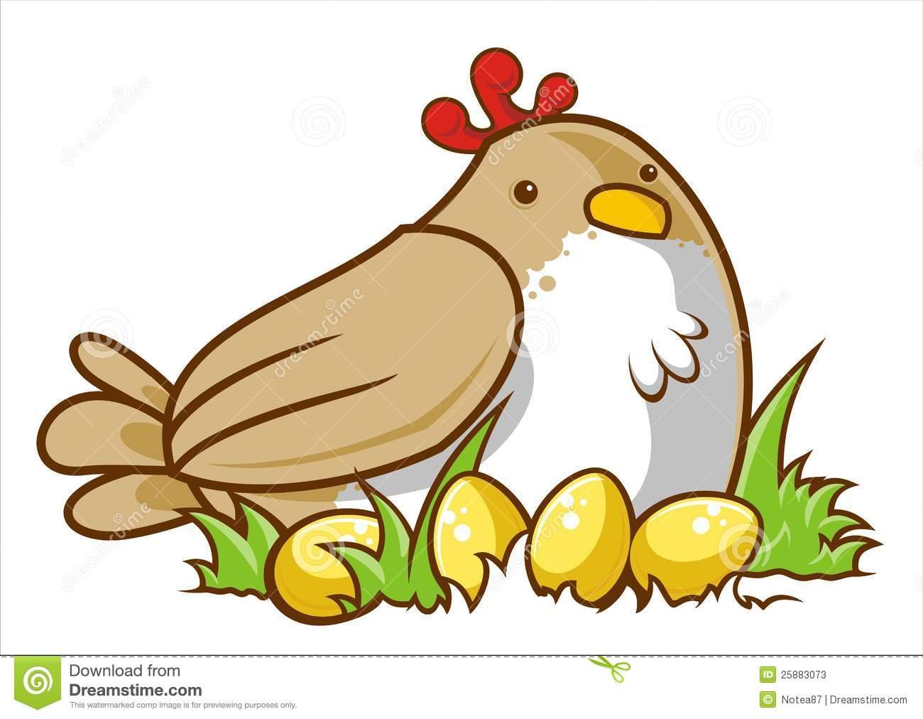 131 Chicken Egg Clipart.