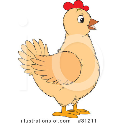 Chickens Clipart #31211.