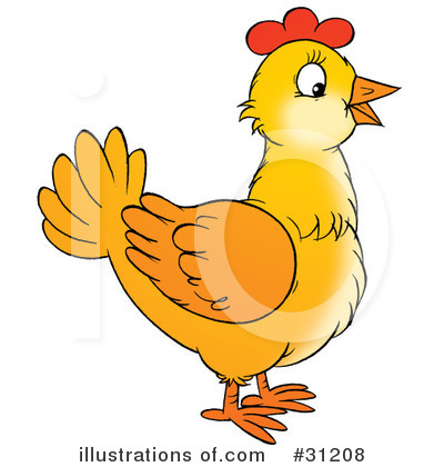 Chickens Clipart #31208.