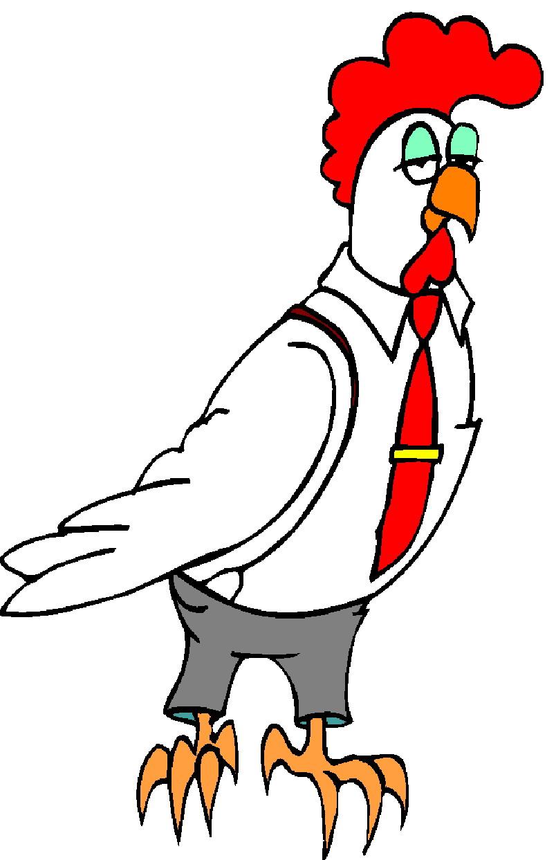 Chickens Clip Art.