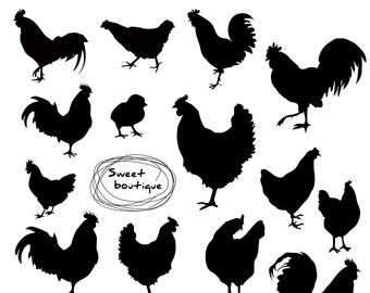 Chicken clip art.