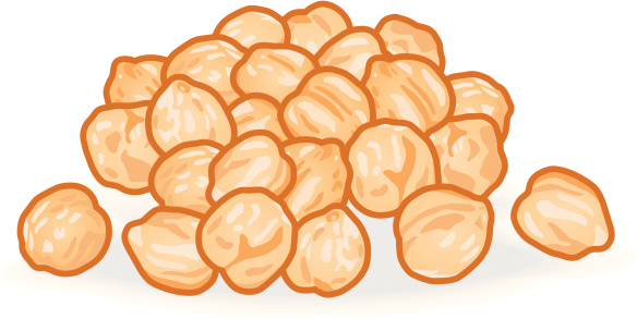 Chickpeas Clip Art, Vector Images & Illustrations.