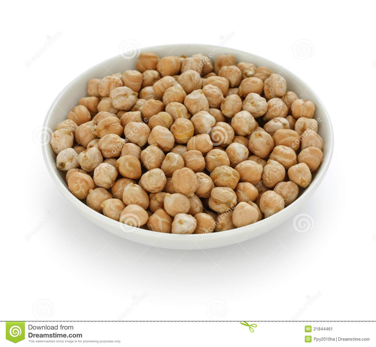 Chana, Chickpea, Garbanzo Bean Stock Image.