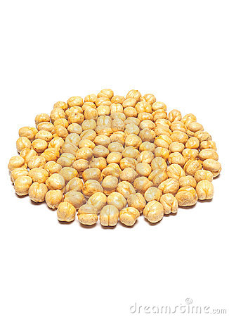 Yellow Chickpea Stock Photography.