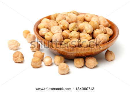Chickpeas Stock Images, Royalty.