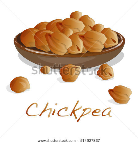 Chickpeas Stock Photos, Royalty.