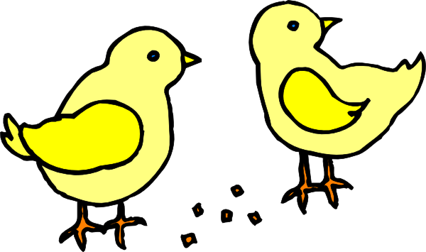 Clipart chicks.
