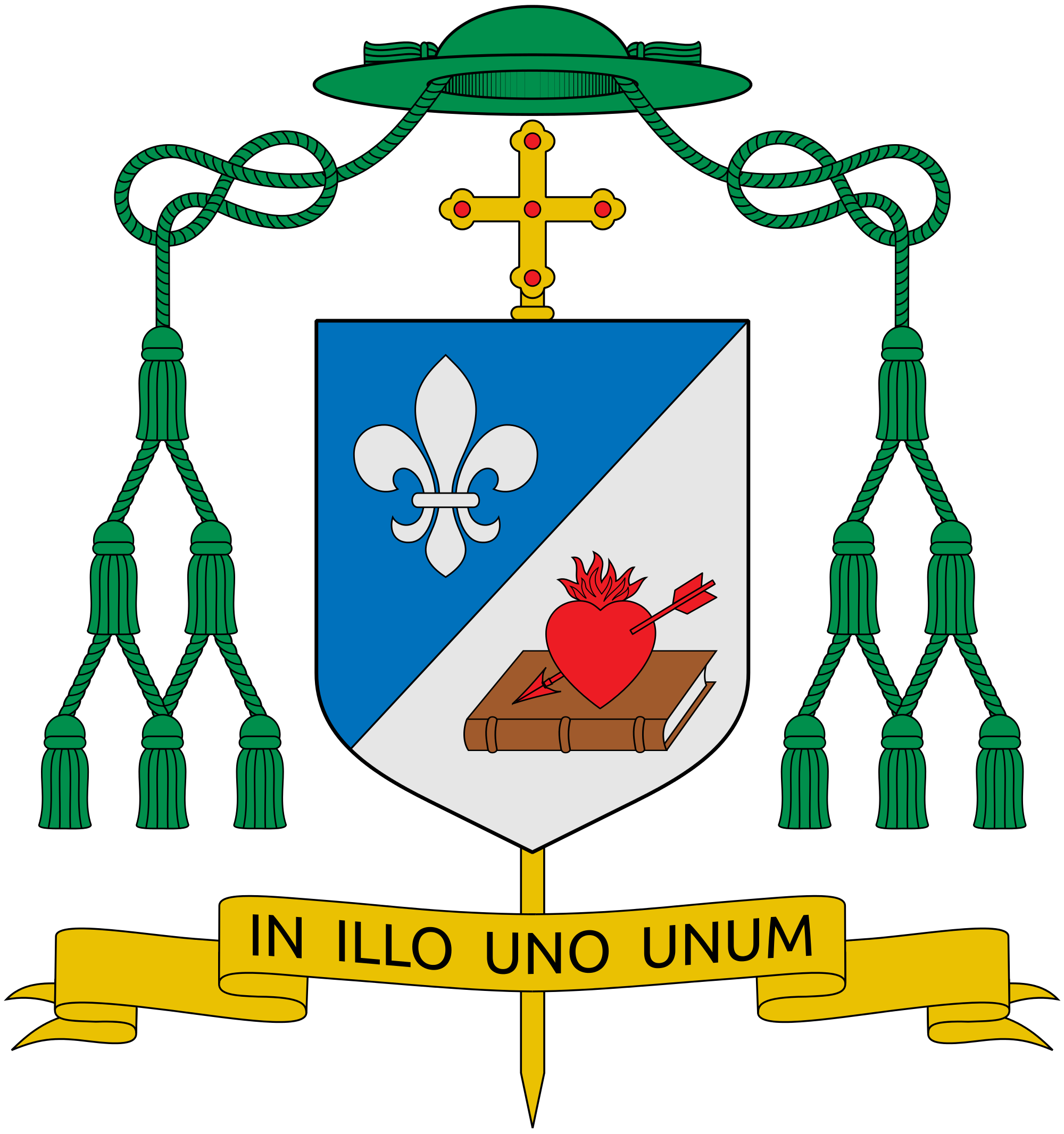 File:Coat of arms of Robert Francis Prevost Martinez.svg.