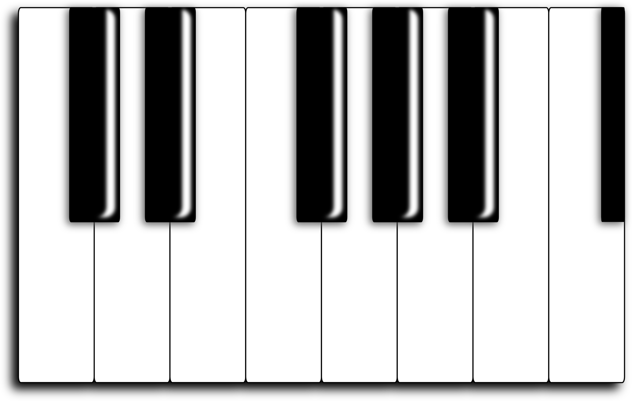 Piano Keyboard Clip Art Clipart Best #YaB1Wj.