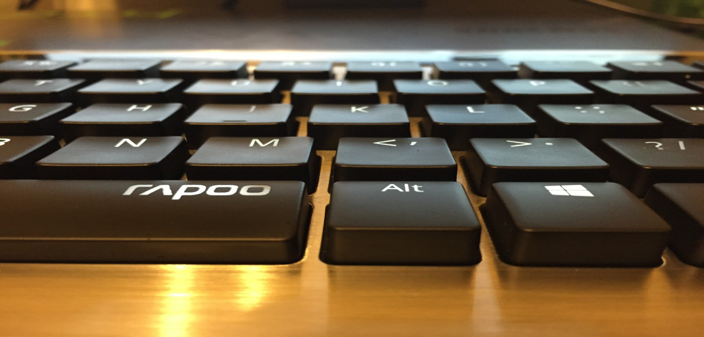 The Rapoo KX Takes My Mechanical Keyboard Virginity.