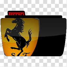 Skins de xwidget para chicos, Ferrari logo illustration.