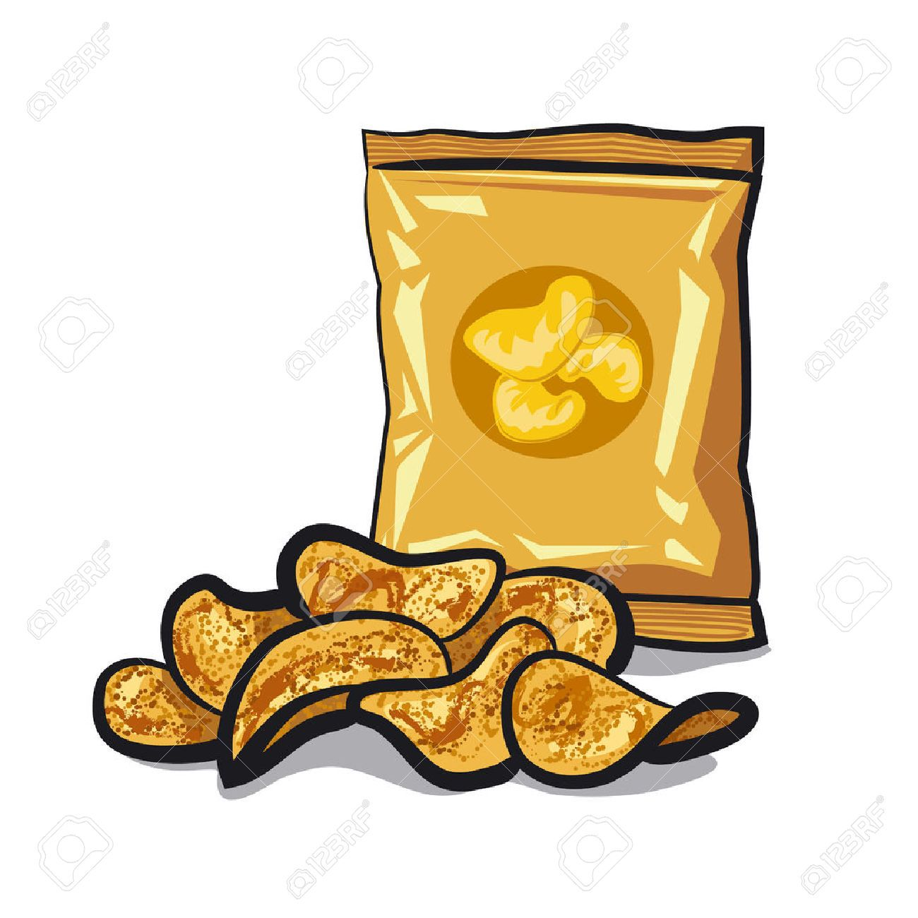 Image result for chips clipart.