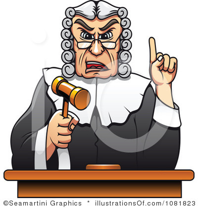 Chief Judge Clip Art.