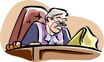 Chief Judge Clip Art.