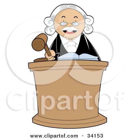 Chief Justice Clip Art.