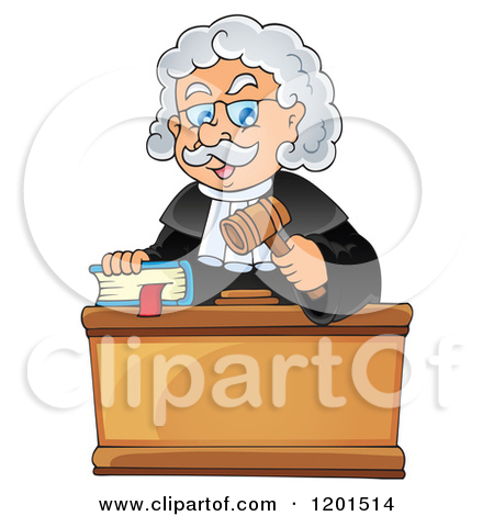 Chief Justice Clip Art.