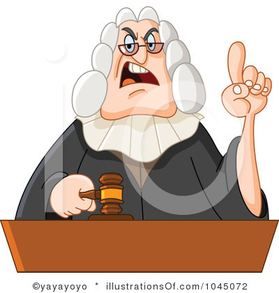 Chief of Justice Clip Art.