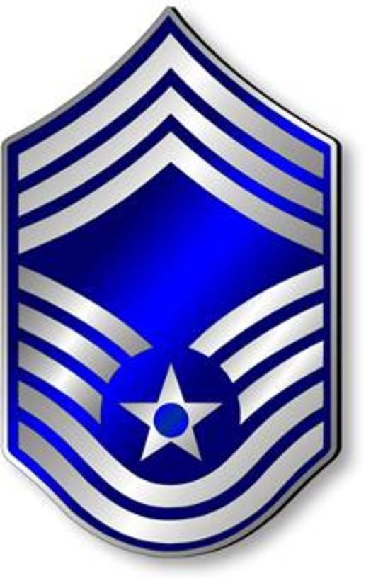 Chief Master Sergeant, CMSgt Stripes (Metallic).