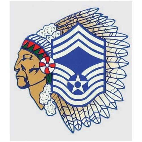 USAF Chief Master Sgt. Decal.