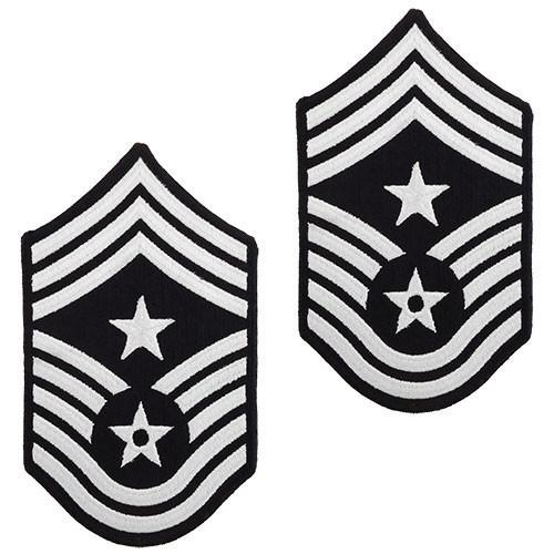 Air Force Chevron: Command Chief Master Sergeant.