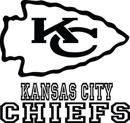 Kansas City Chiefs Football Logo & Name Cu #274422.