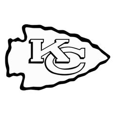 Kansas City Chiefs Silhouette.