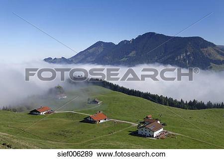 Stock Photograph of Germany, Bavaria, Upper Bavaria, Chiemgau.