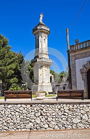Santuario Di Montevergine. Palmariggi. La Puglia. L'Italia.