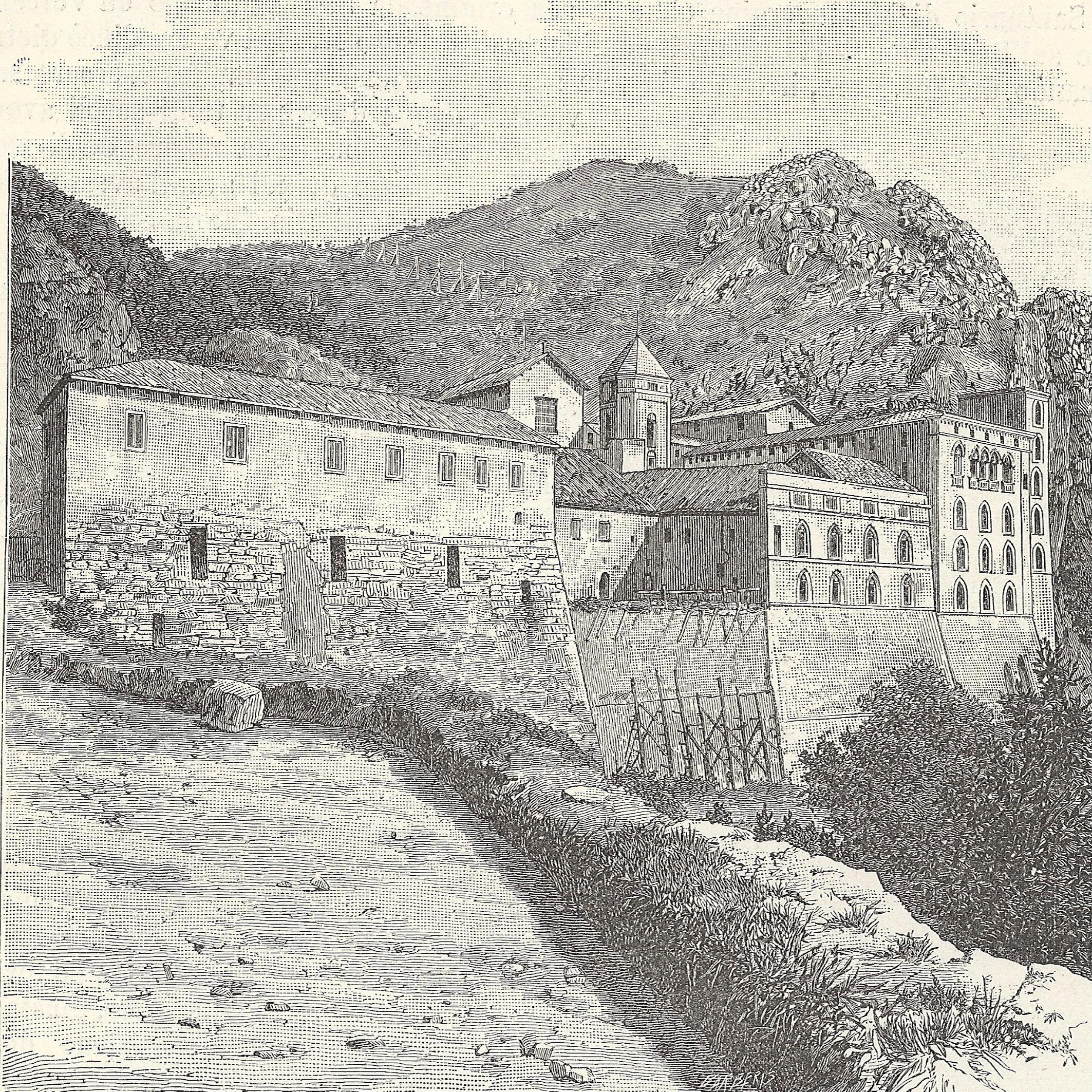 File:Avellino (dintorni) prospetto del Santuario di Montevergine.