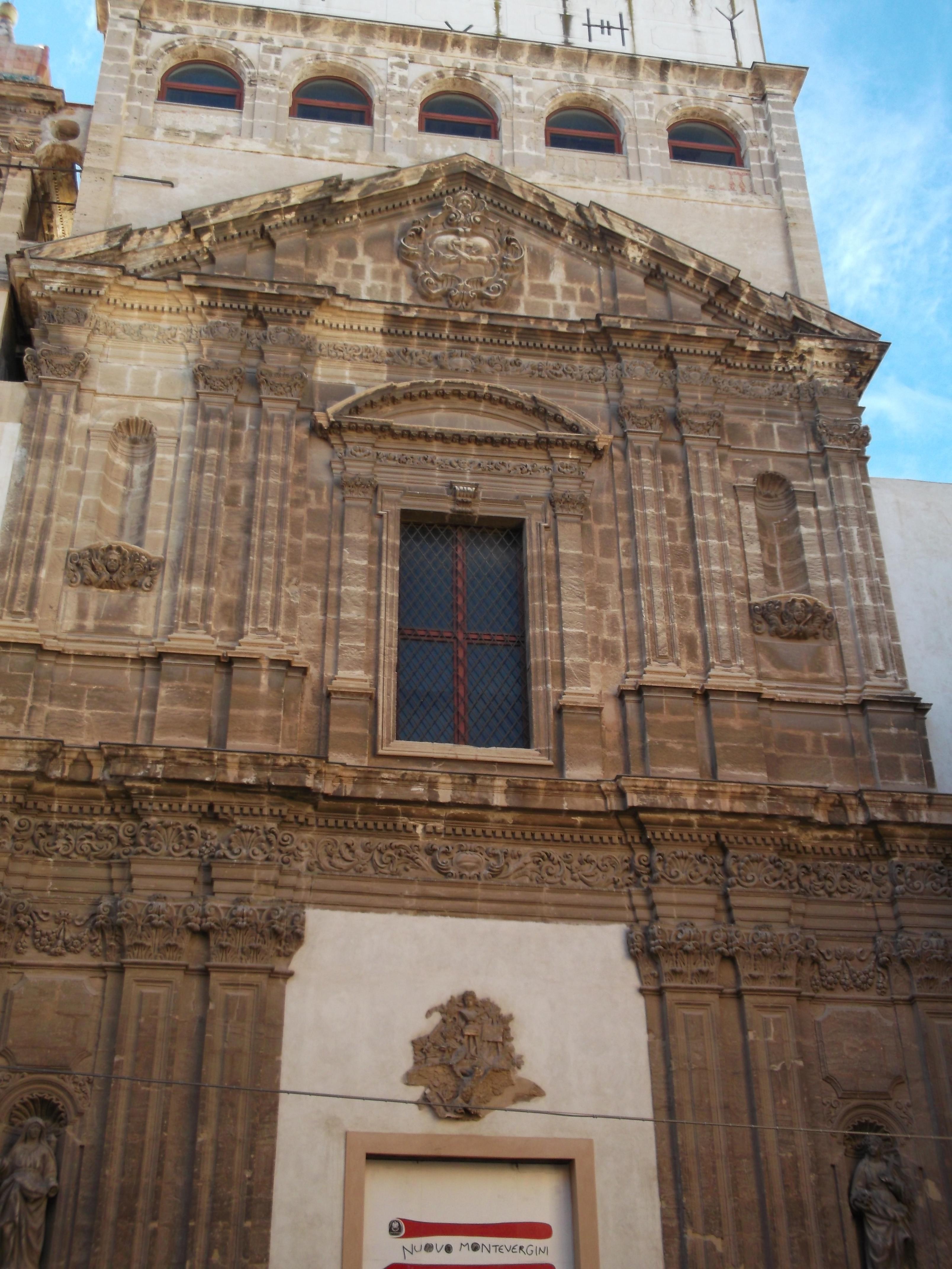 File:Chiesa di Santa Maria delle Grazie di Montevergine (Palermo.