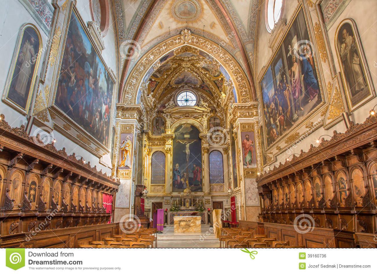 Chiesa Di San Girolamo In Cervignano Del Friuli Fotografia Stock.