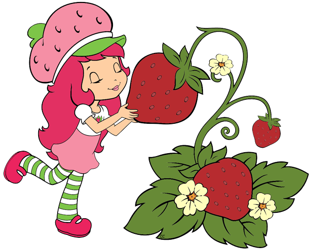 Strawberry Shortcake Berry Bitty Adventures Clip Art Images.